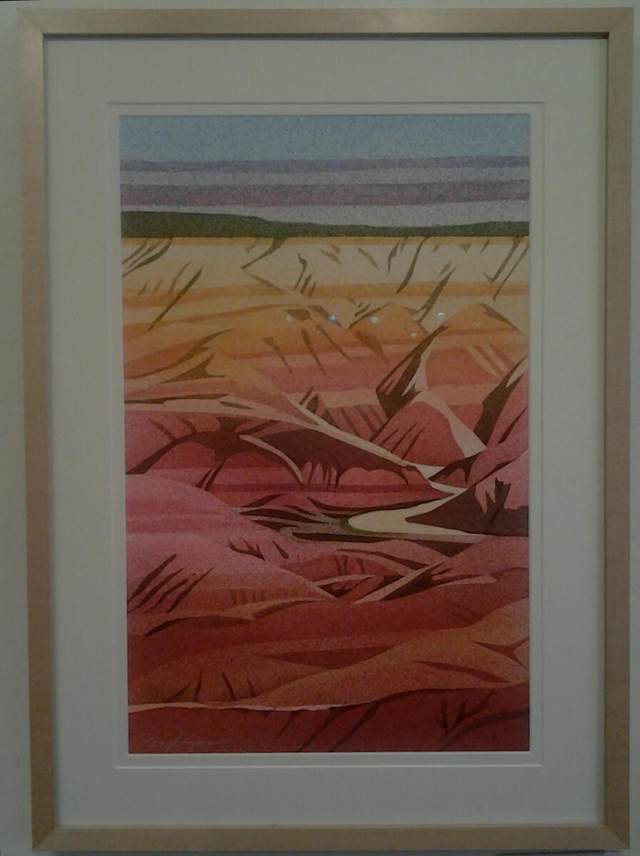 """""""Painted Desert"""" - Original Watercolor"""