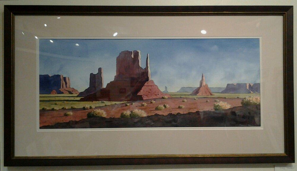 """Long Shadows"" - Watercolor"