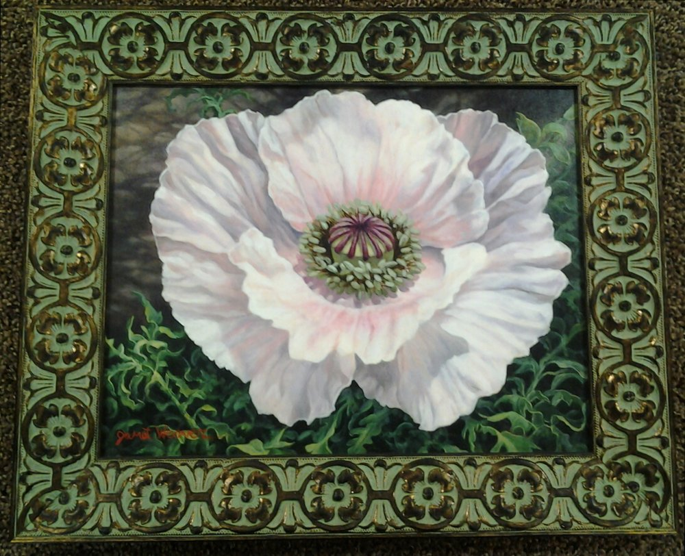 """A Star is Born"" original oil by Janet Weaver - $575 (18"" x 15"")"