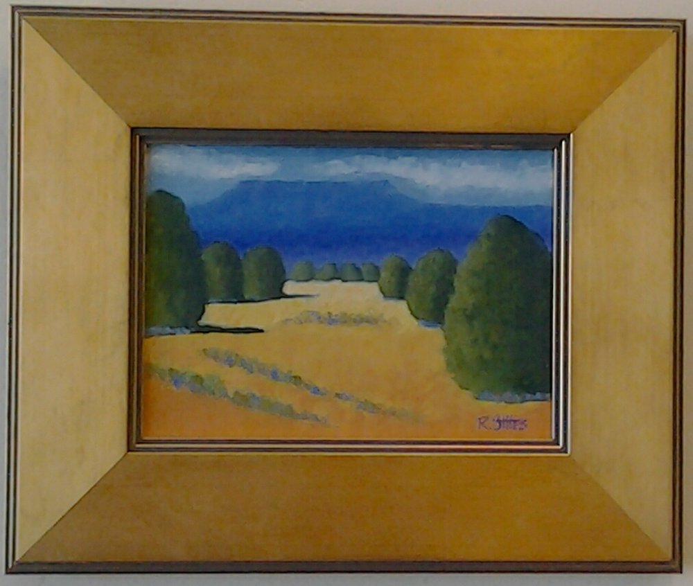 """High Desert"" original oil by Ramona Stites - $195 (11"" x 9"")"
