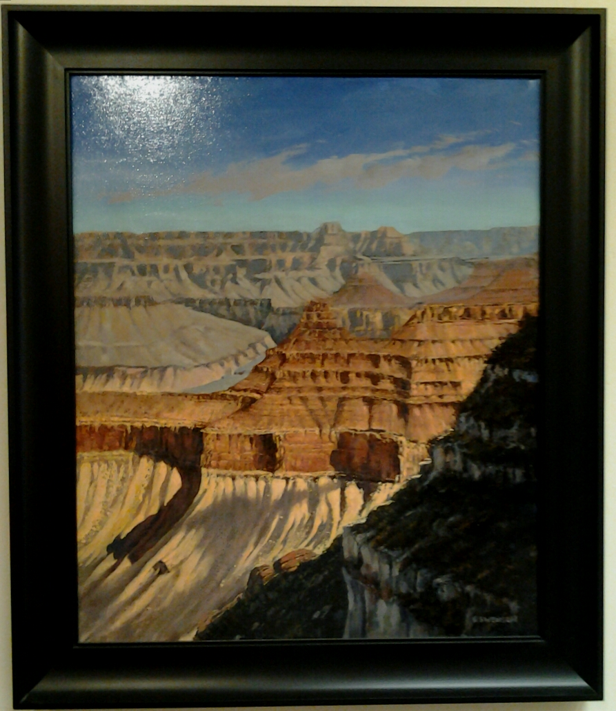 """South Rim"" original oil by Roy Swenson - $2,200 (24"" x 28.5"""