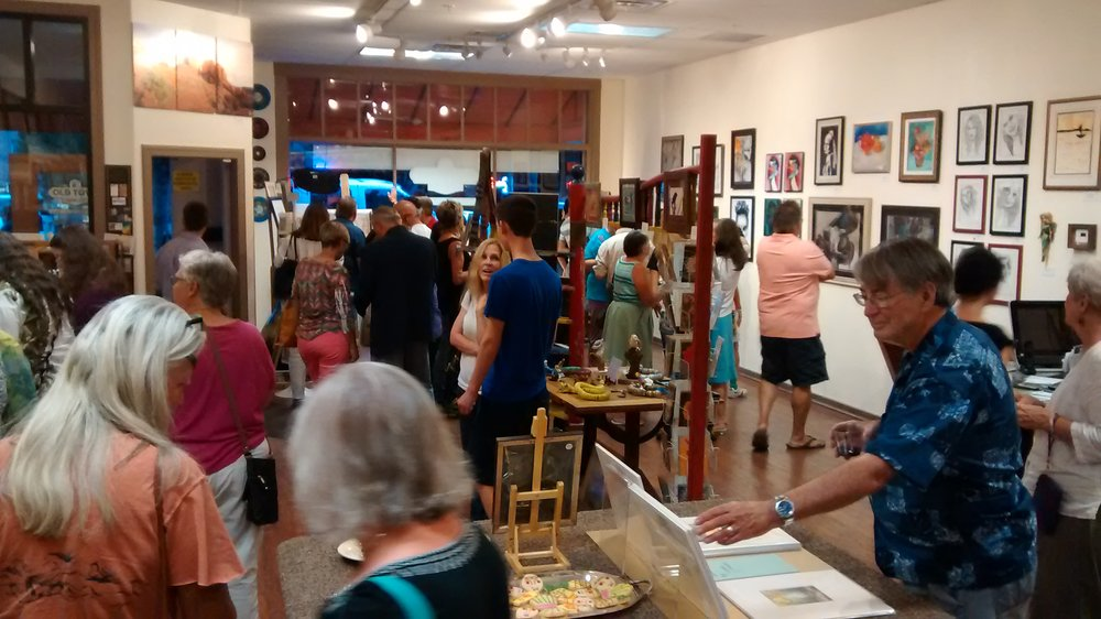 Enjoy special showings each month at our art gallery!