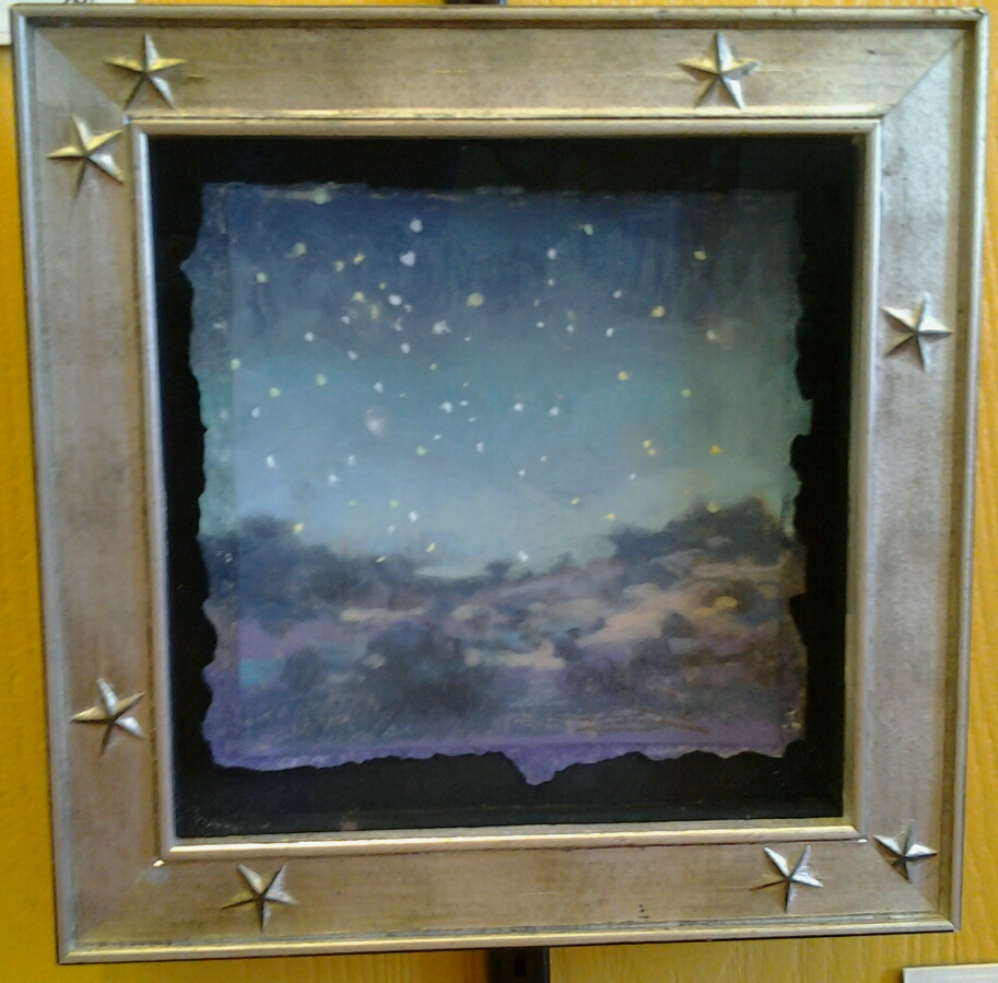 """Desert Starway"" original pastel by Christine Debrosky - $195 (15"" x 13"")"