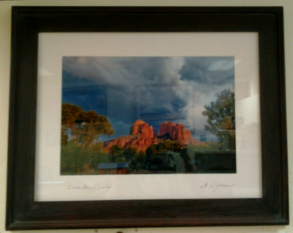 """October Storm Clouds"" original photograph by Wayne Johnson - $450 (29"" x 23)"