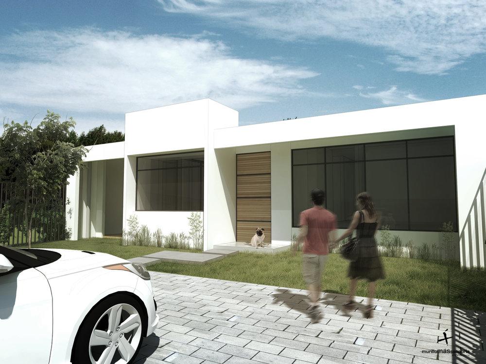 Casa CD. San Antonio, Escazú. 2016