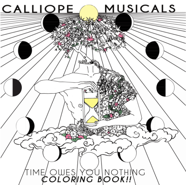 Coloring Book inspired by Time Owes You Nothing - $15