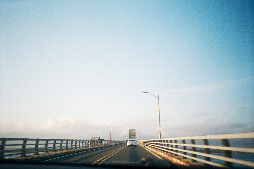 The drive out east. I live for these moments during summertime in New York—just get me to the ocean.