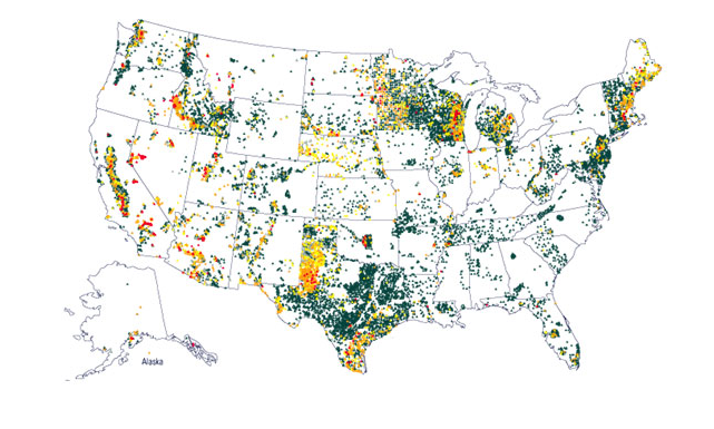 Millions are affected by naturally occurring arsenic, especially people in the Western USA.