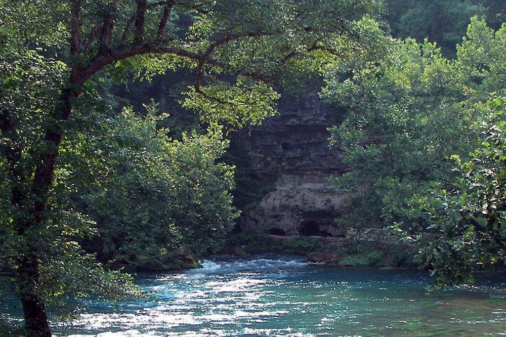 Big Spring in Missouri is one of the largest natural water springs in the world