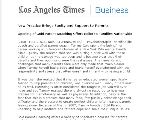 Tammy In The Lost Angeles Times