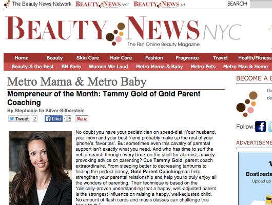 Tammy In Beauty News