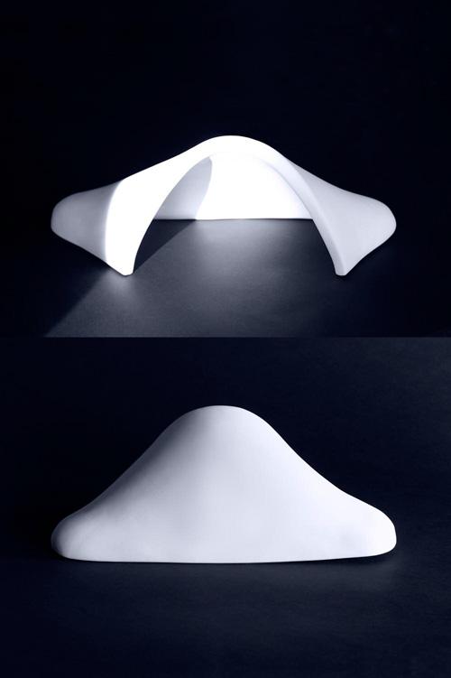 ARA (#1)  2012. Handbuilt porcelain. 16x 7 x 5 in