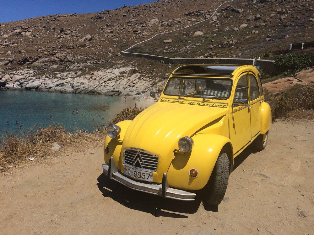 The coolest lil' car at Kappari beach