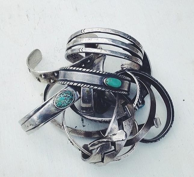 Tortoise Cuffs by Nick Lundeen.   Photograph Nick Lundeen