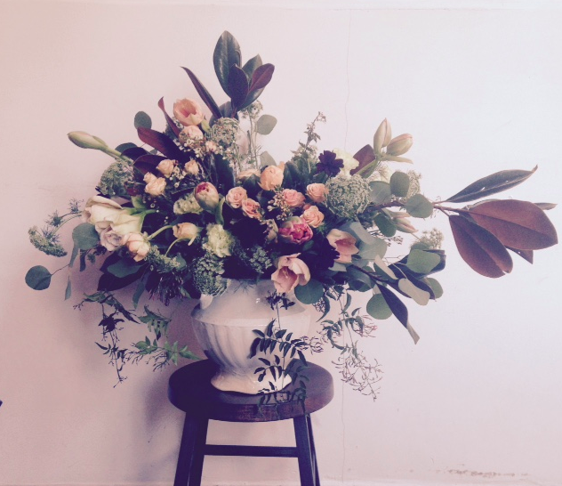 Spectacular arrangement at Jill Lindsey store.