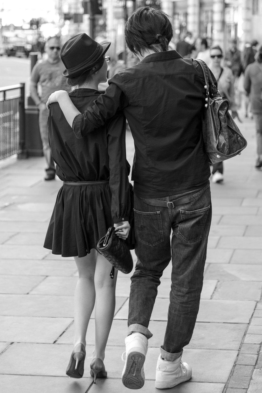 Strolling on Regent Street