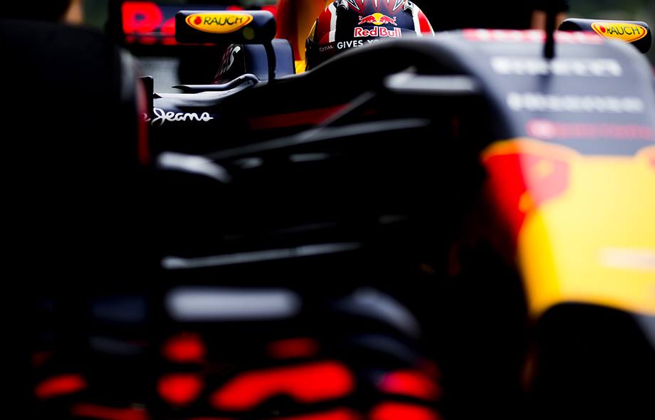 Daniil Kvyat of Russia and Red Bull Racing arrives in the pitlane during practice for the Russian Formula One Grand Prix at Autodrom Sochi on April 29, 2016 in Sochi, Russia.