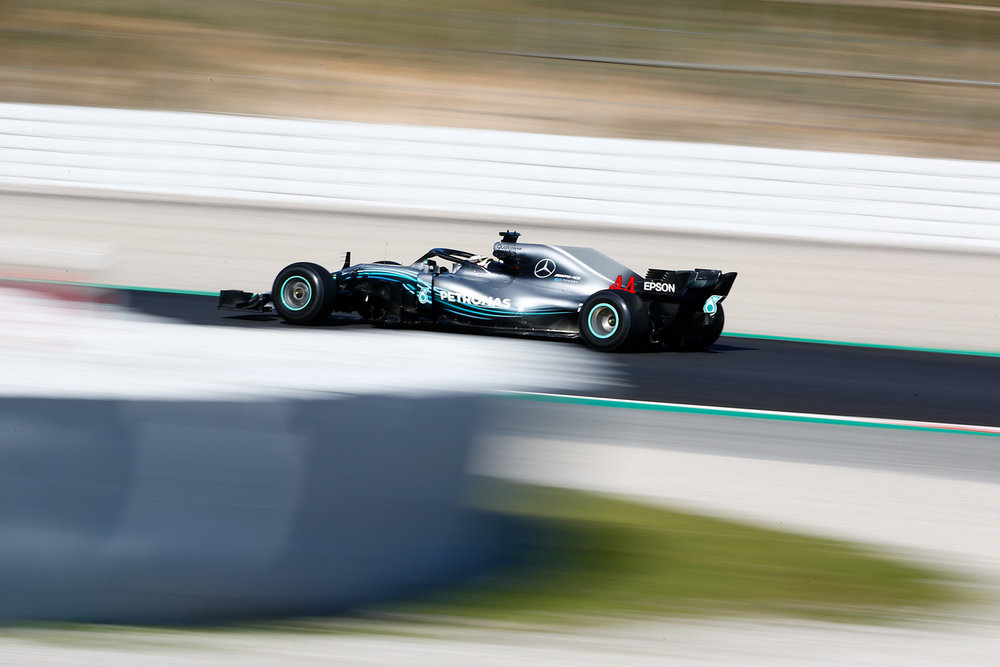 Lewis HAMILTON - Great Britain - MERCEDES AMG PETRONAS MOTORSPORT - #44 - F1 Test Days - Circuit de Barcelona Catalunya - Spain - 07 March 2018