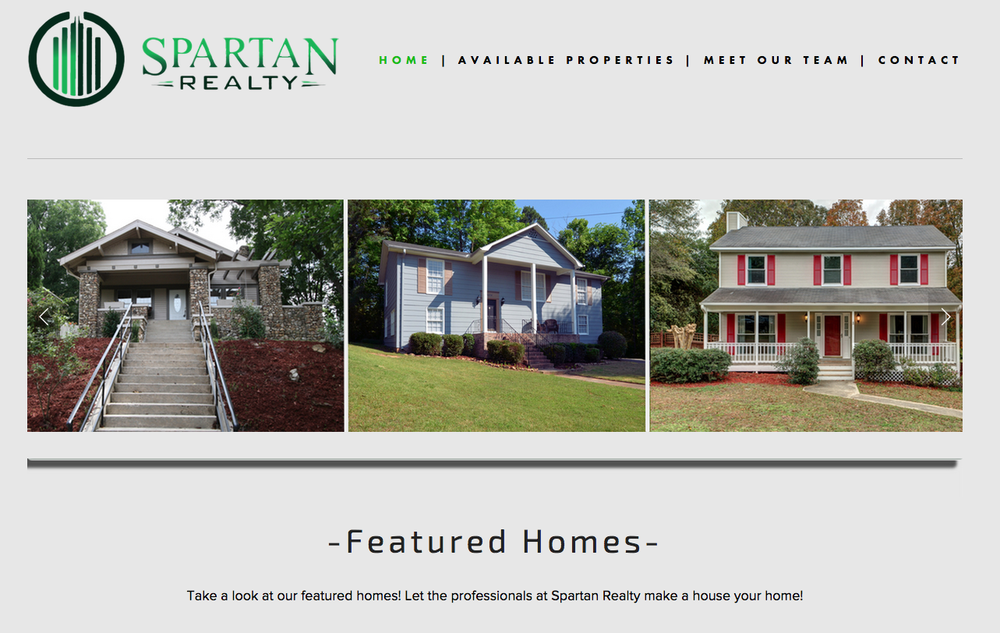 Spartan Realty is a realty company in Birmingham AL. Seed is handling website and real estate photography for spartan. Seed has also created multiple videos for Spartan's sister companies Spartan Invest and Spartan Value Investors.