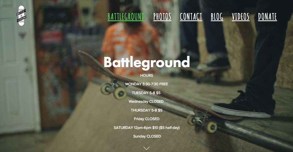 Battleground Skate Ministry is a skateboarding ministry located in McCalla AL. The Owner of Seed Digital Media, George Edmondson, has run the ministry for nearly a decade.