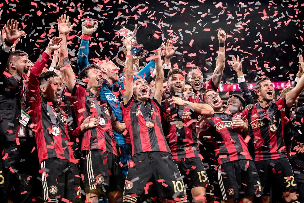 WE GON' SHINEPlayoffs & MLS Cup Championship Creative - 2018 Atlanta United playoff creative