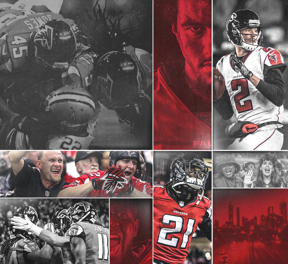 Atlanta Falcons Welcome to ATL - 2018 Welcome to Atlanta brand campaign.