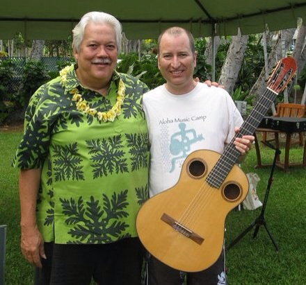 "My kumu ""Mr. Nahenahe"" Keloa Beamer. Mahalo for teaching me the true meaning of Aloha!"