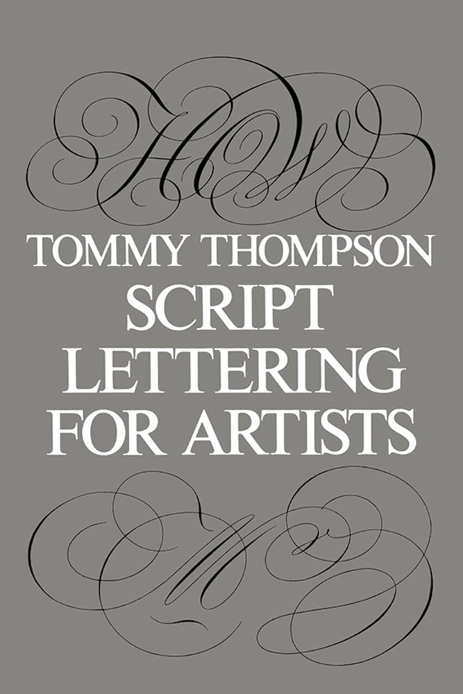 Script Lettering for Artists is another small but mighty book. Tons of great technique tips for drawing roundhand scripts.