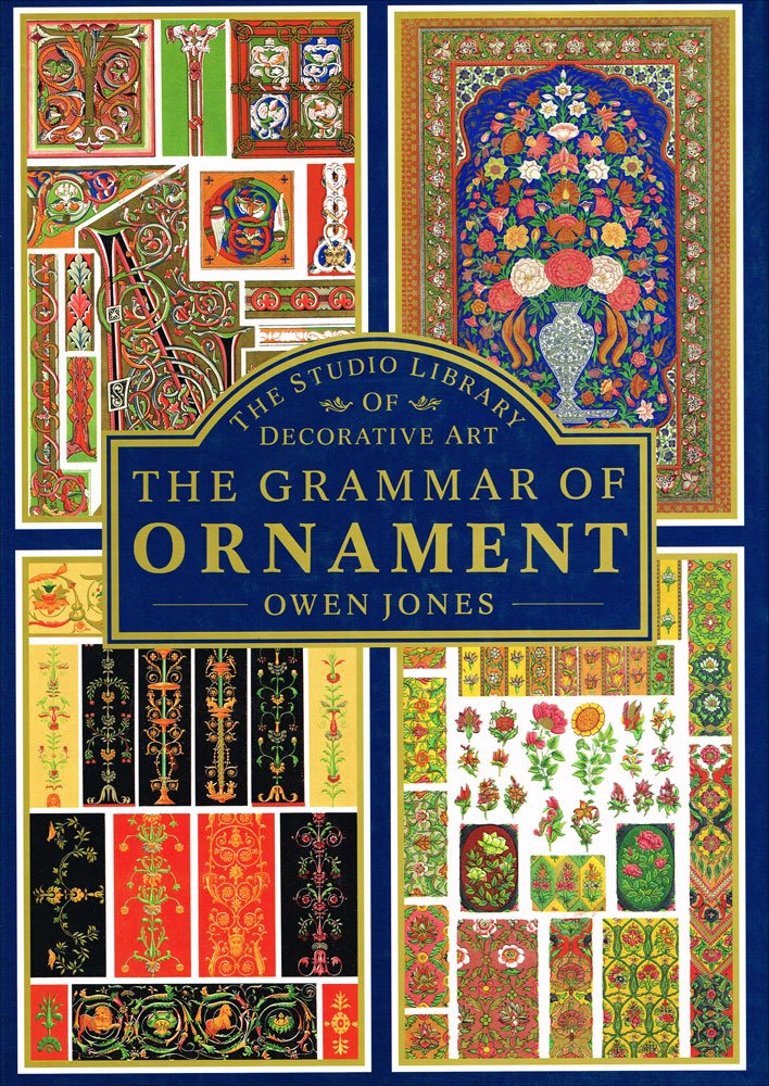 The Grammar of Ornament Universally regarded as the classic reference book on Victorian aesthetics as well as an important visual synopsis of the major forms of decoration.