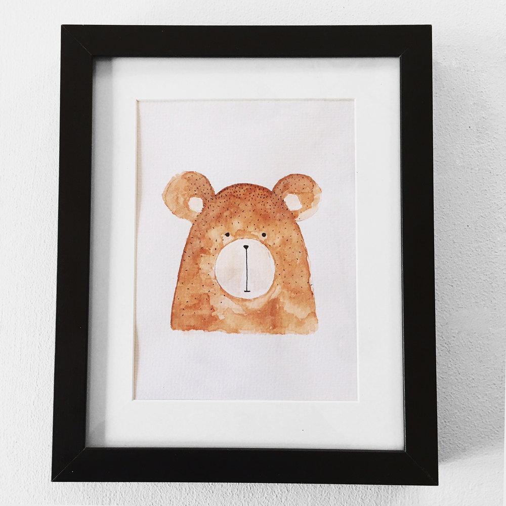 Woodland Bear $25