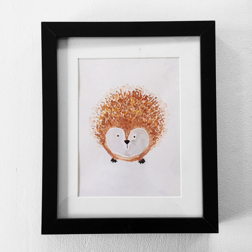 Woodland Hedgehog $25