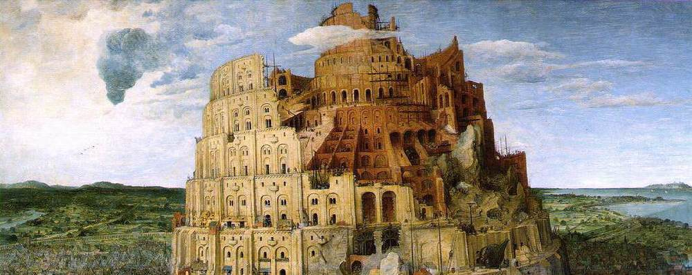 """The Tower of Babel"" by Pieter Breugel the Elder c. 1653"