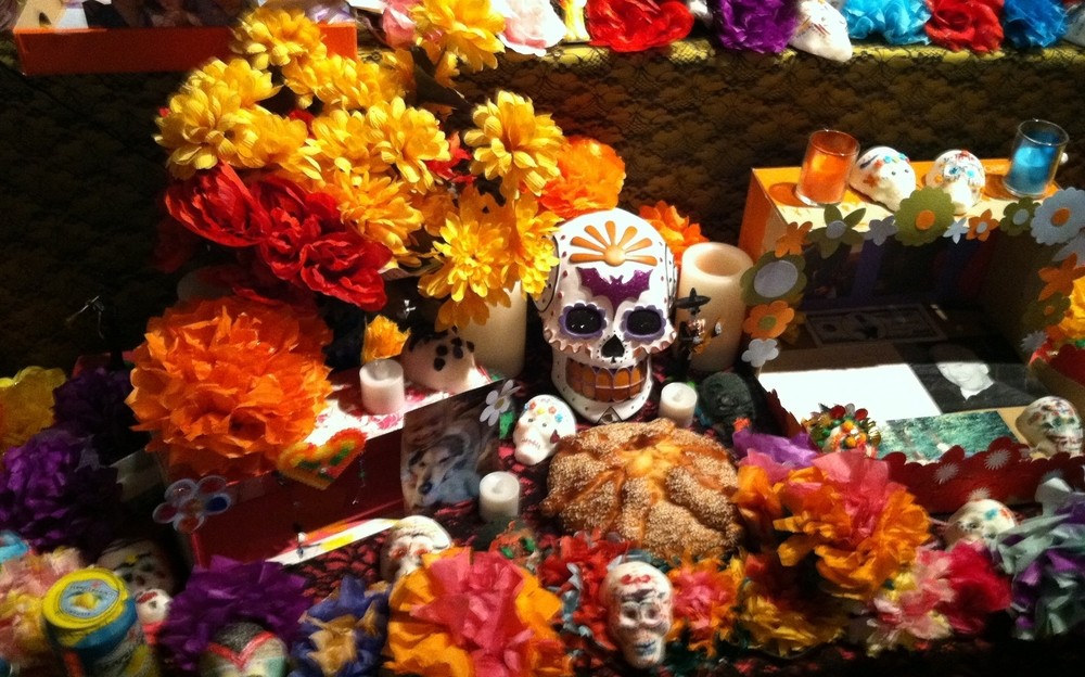 Photo by Netanel Miles-Yépez from the Día de los Muertos exhibit at the Longmont Museum, 2014.