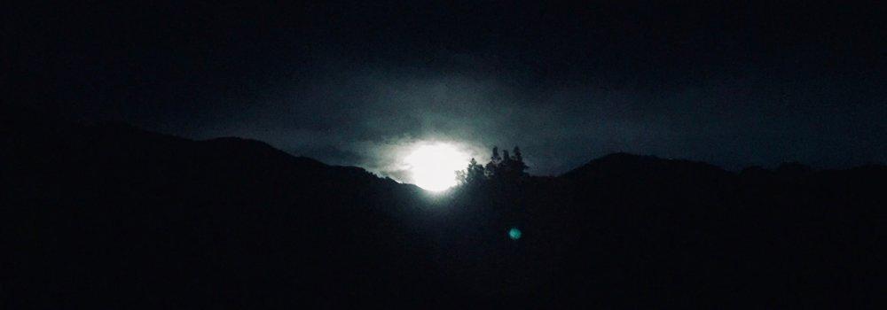 """""""Pisces Moonrise"""" by Netanel Miles-Yépez, 2018."""