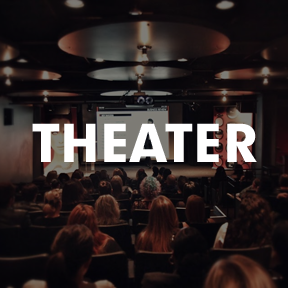 Theater and screening gallery - theater and screenings at HELEN MILLS Event Space and Theater