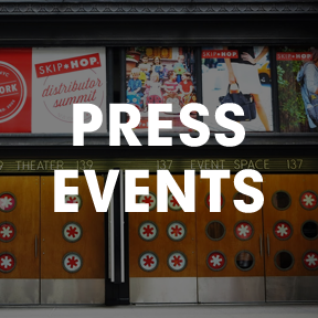 press events gallery - press events and product launches at HELEN MILLS Event Space and Theater