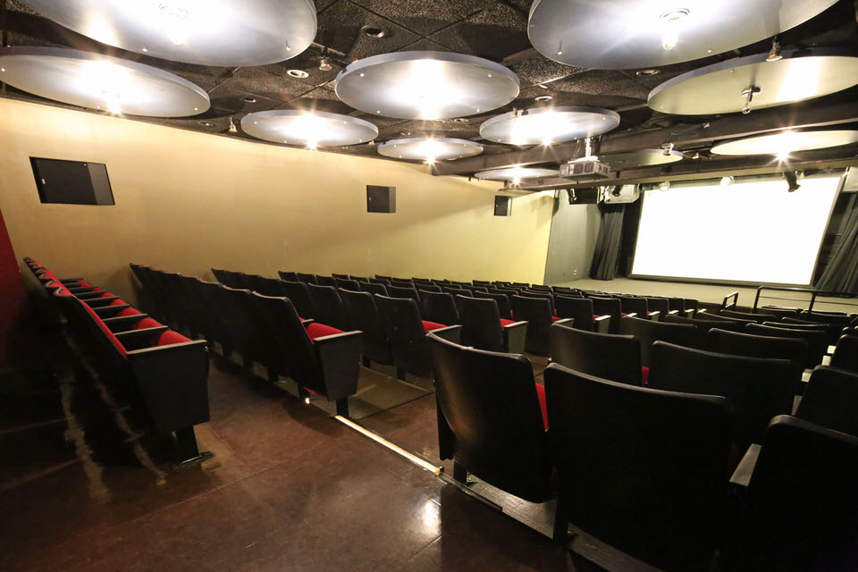 HELEN MILLS Theater and Screening Room Rental NYC