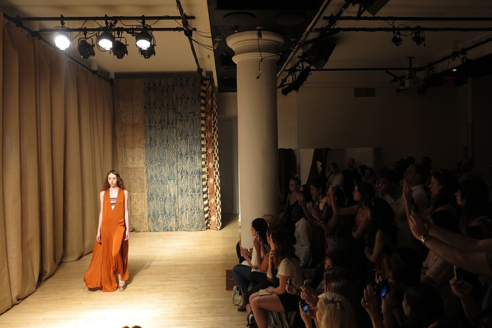 Tia Cibani Spring 2015 Collection at HELEN MILLS