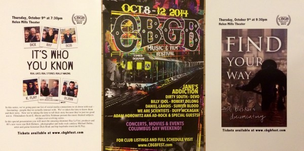 3rd Annual CBGB Music and Film Festival at HELEN MILLS — HELEN MILLS
