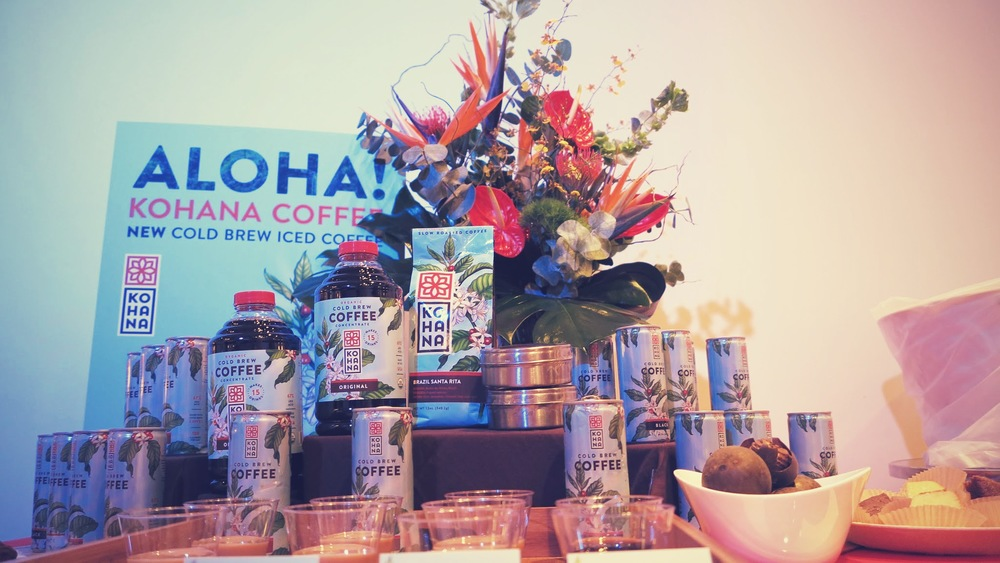 An impressive (and energizing) display from Kohana Coffee, bringing us back to their Hawaiian roots.