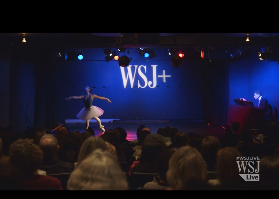 Misty Copeland Performs as Part of the Wall Street Journal + Series