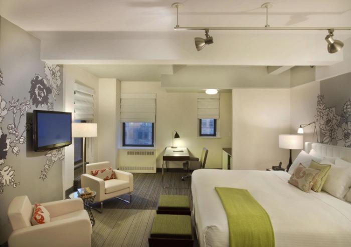 Room at Affinia Manhattan NYC hotel