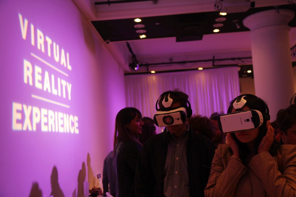 Virtual Reality Showcase at AICP Week's 2015 Base Camp at HELEN MILLS Event Space and Theater