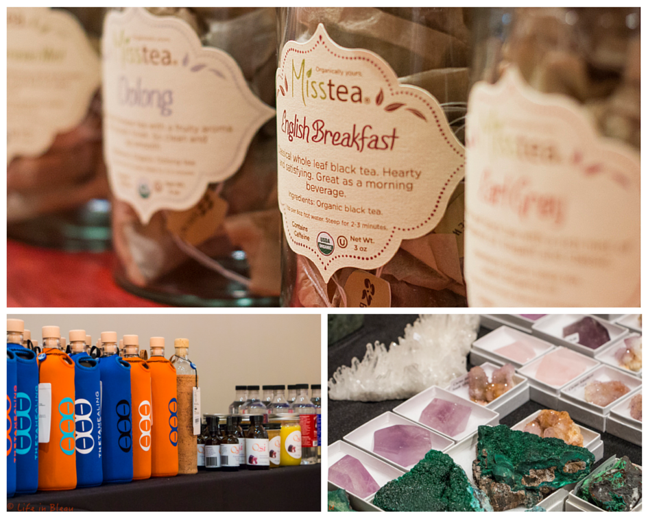 The event featured a Tea Station by MissTea for guests as well as merchandise for purchase. Photo Credit: Life in Bleau