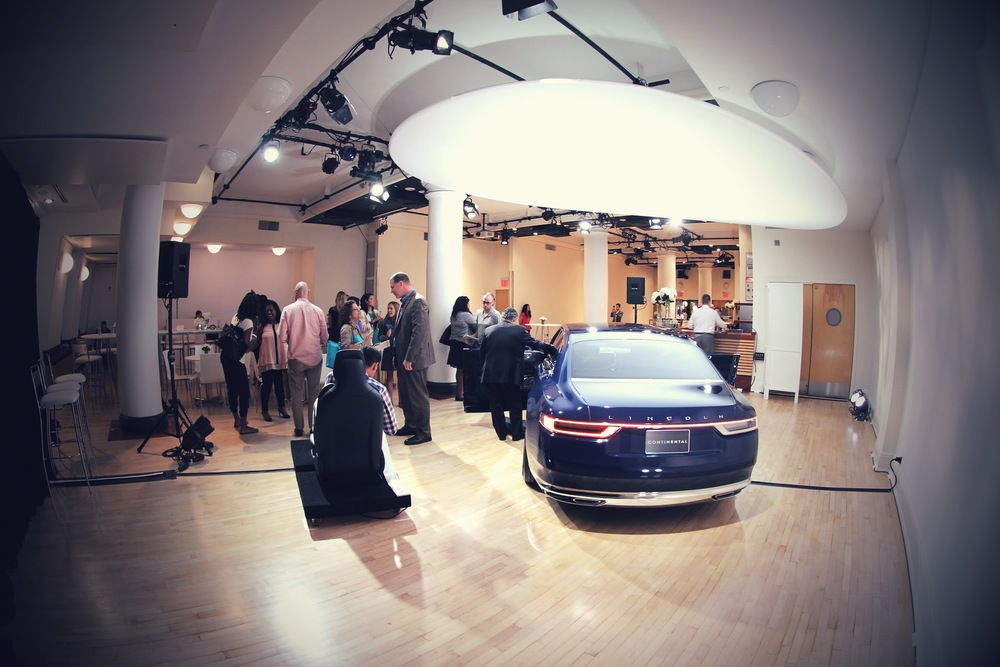 Lincoln Continental Concept Car Event at the HELEN MILLS Event Space and Theater in Chelsea NYC - August 2015