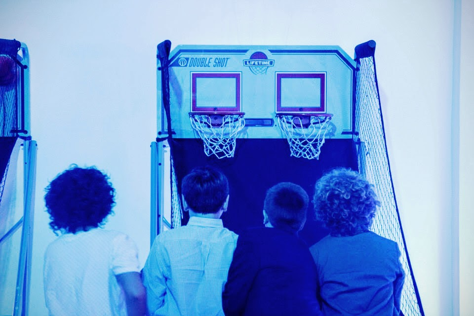 Pop-a-shot Game at Bar Mitzvah