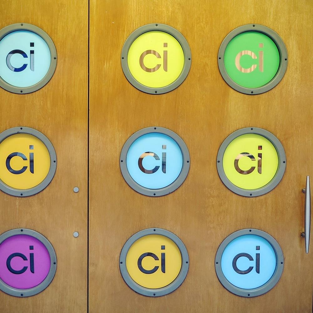 CI signage