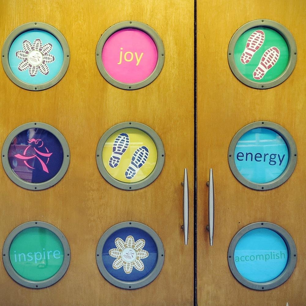 Inspire Joy Energy signage