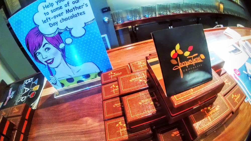 Jacques Torres chocolates for Canto's #DAMSummit at HELEN MILLS Event Space and Theater