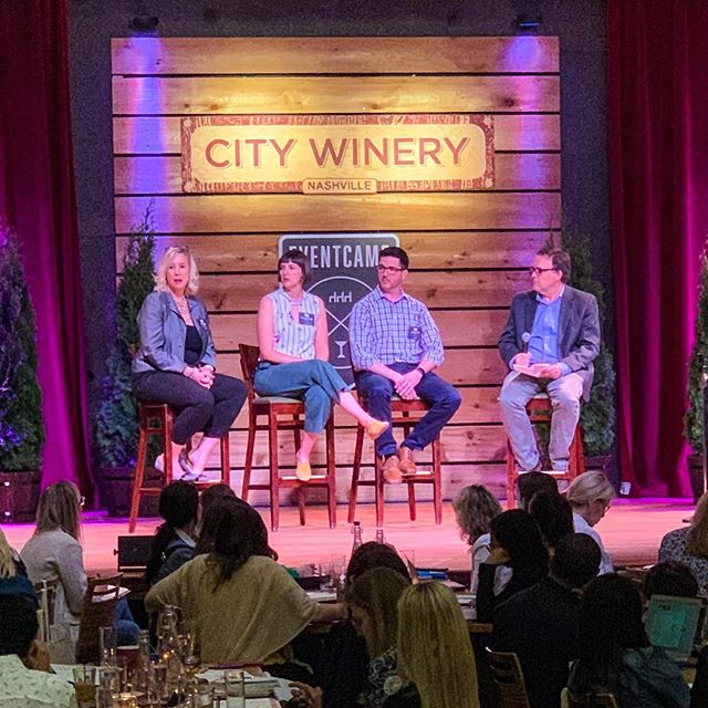 Plus, we got to hear informative panels from industry leaders such as: Chris Blair, Founder of @listeningroomcafe  Claire Crowell, COO of A. Marshall Hospitality / Co-Owner @hattiejanescreamery  Gina Peper, VP of Sales and Marketing of North Point Hospitality . . .  #nashville #nyc #eventplanners #conference #eventconference #panels #speakers #helenmills #chelsea #venue #eventtips #specialevents #newyork #eventvenue @tripleseat #eventcamp2019